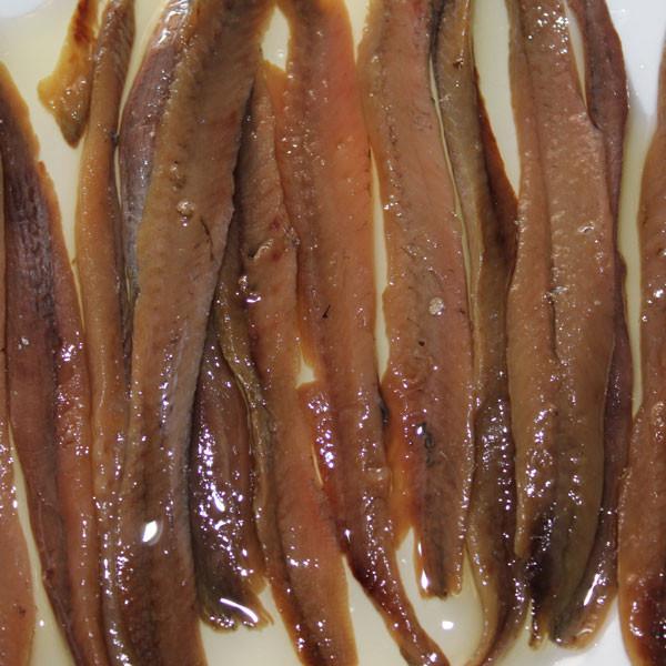 Anchoa del Cantábrico en conserva