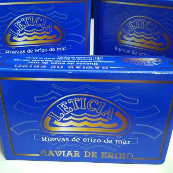 Caviar de erizo en conserva