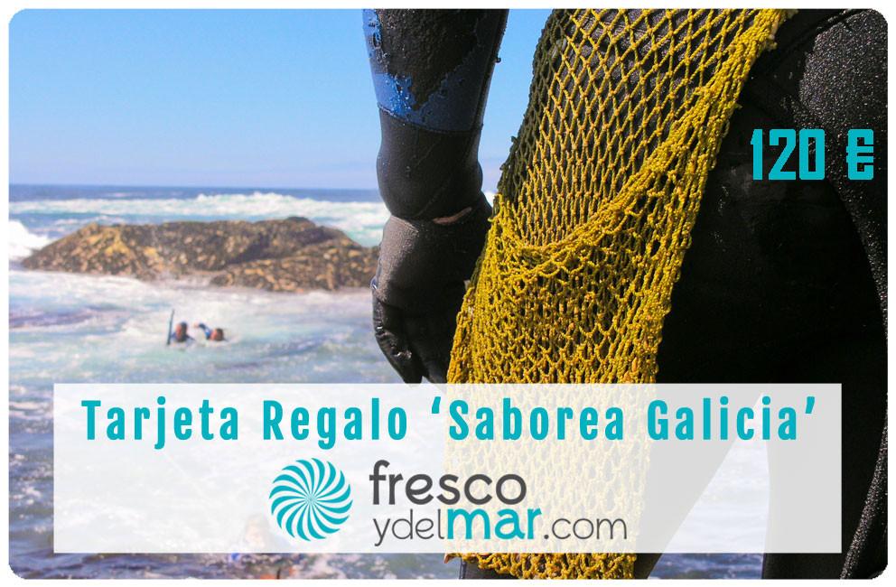 """Tarjeta Regalo """"Saborea Galicia - 120"""""""