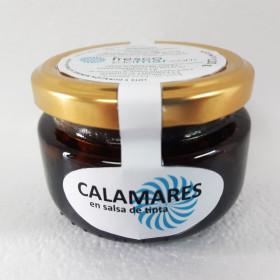 Calamares en salsa de tinta (conserva artesanal)