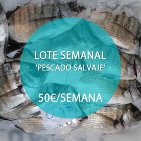 Lote: 'Pescado Salvaje' · 50 €/semana