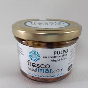 Pulpo en aceite de oliva (conserva artesanal)