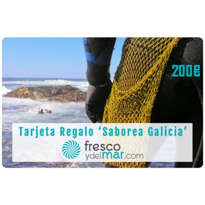 """Tarjeta Regalo """"Saborea Galicia - 200"""""""