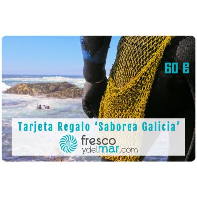 """Tarjeta Regalo """"Saborea Galicia - 60"""""""