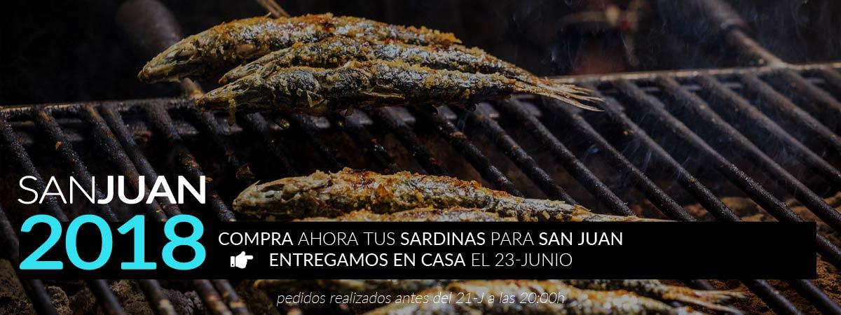 Sardinas en San Juan!