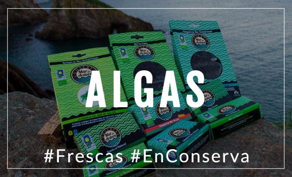 Comprar Algas al natural frescas o en conserva
